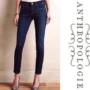 Pilcro Anthropologie Skinny Blue Denim Jean
